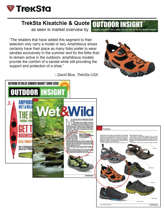 TrekSta Kisatchie's in Outdoor Insight