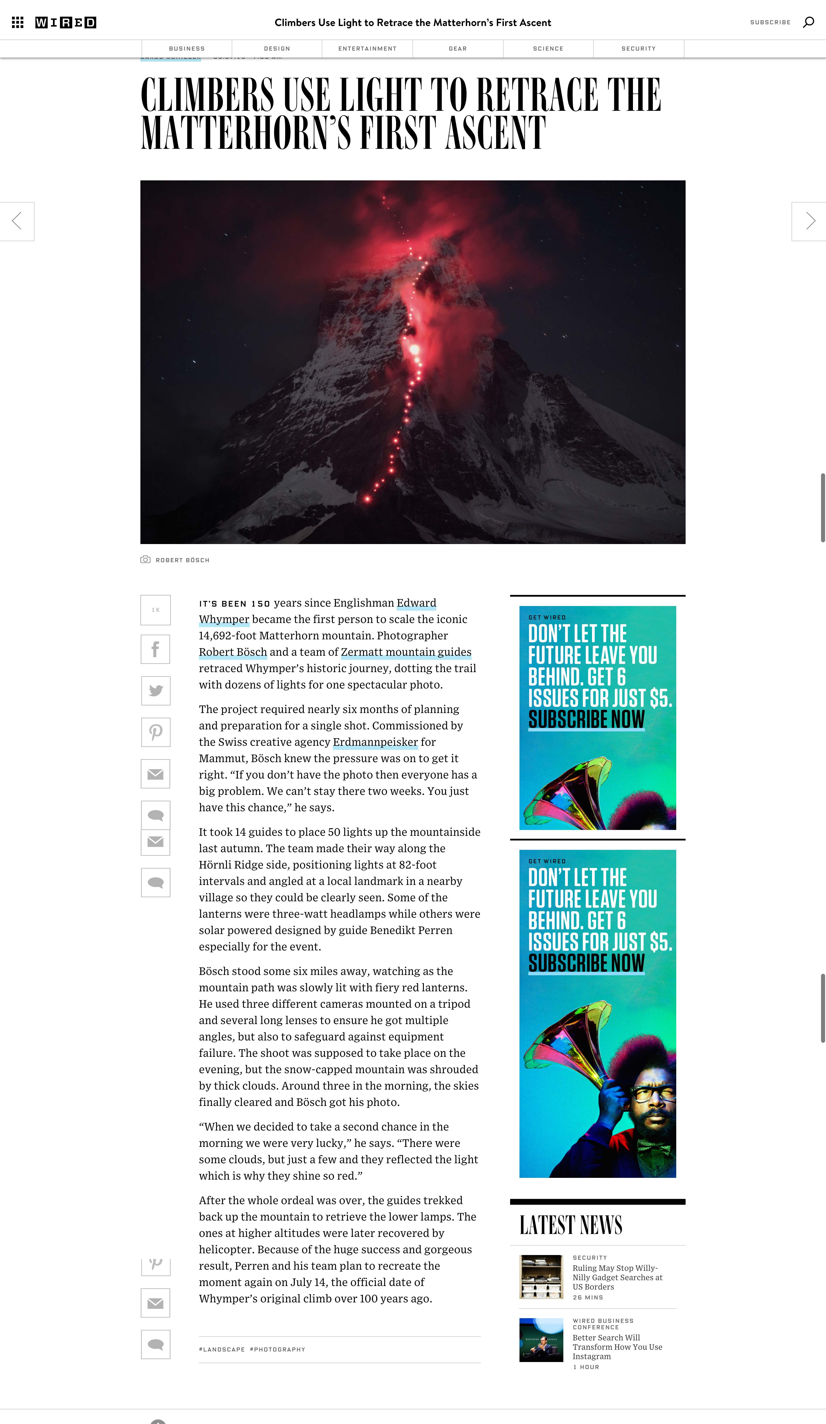 Mammut.Wired.MatterhornKeyVisual - Momentum Media PR